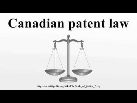Canadian patent law