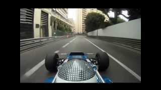 Andrew Smith Onboard 1970 Tyrrell March 701-2 Monaco Historic GP 2012