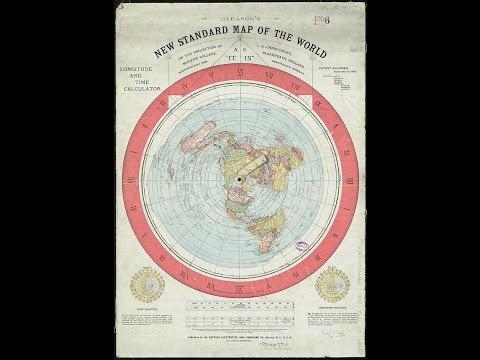 Flat Earth AZ Map... Nautical Miles... Earth's True Size.. (maybe).