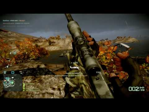 Battlefield Bad Company 2 Sniper Montage