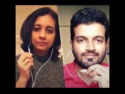 Kannukkul Nooru Nilavaa Smule Karaoke by Anand Udayashankar and Preetha