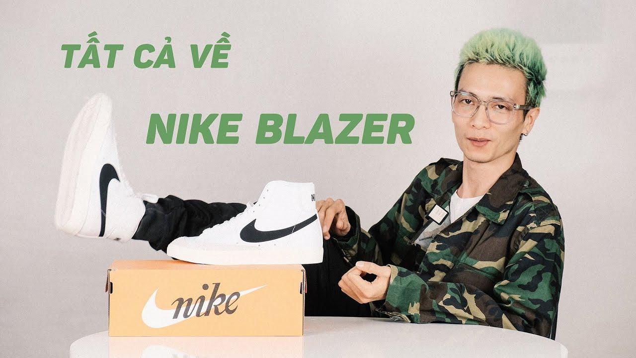 Nike Blazer Mid 77 Vintage và những gì bạn cần biết về đôi giày 50 tuổi