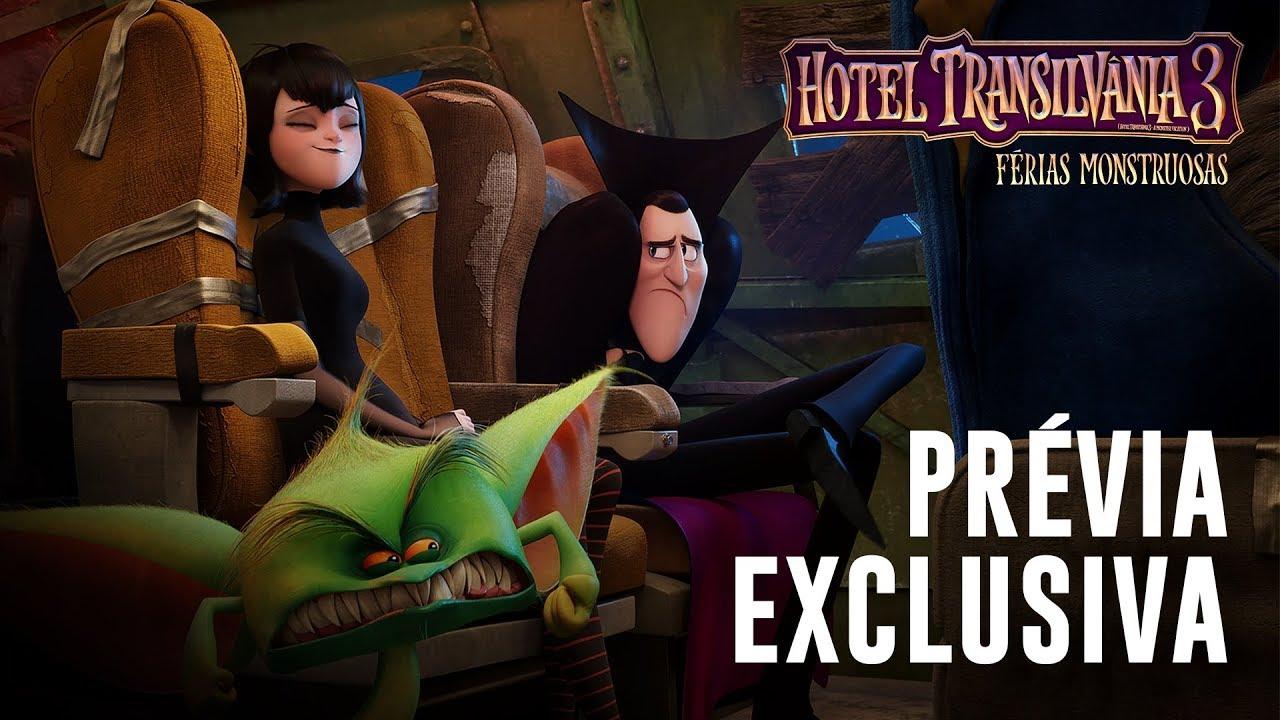 Hotel Transilvania 3 Ferias Monstruosas Previa Exclusiva Dublado