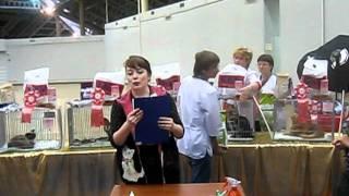 """""""Cats Форум 2011""""Ринг молодых 2-го дня  Награждение"""