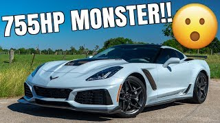 homepage tile video photo for 2019 Corvette ZR1 Driving Review - The Most Insane Corvette Ever Made!