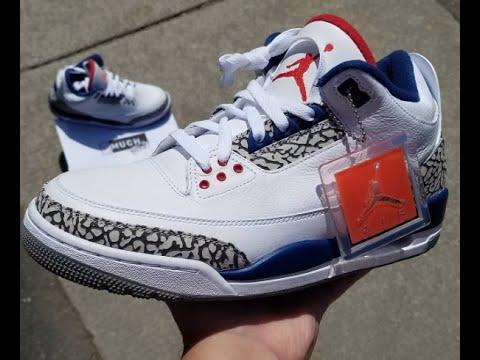 d937761a8f1 Nike Air Returns To The Air Jordan 3 True Blue This Black Friday ...