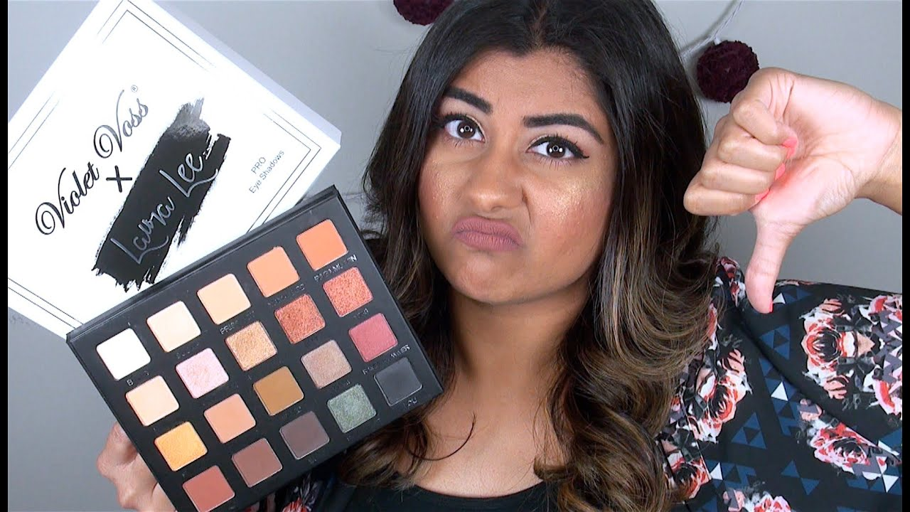 New Violet Voss X Laura Lee Palette Review Amp Swatches Youtube