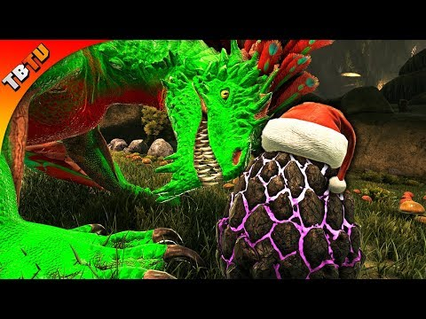 CAN YOU GET CHRISTMAS ROCK DRAKES ROCK DRAKE EGG STEALING AND CHRISTMAS EVENT! Ark Aberration  E11