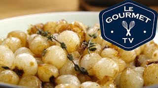 Wine Glazed Pearl Onions Recipe - Legourmettv