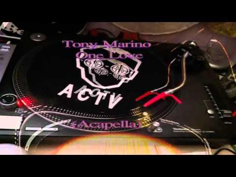Tony Marino - One Love (Acapella)