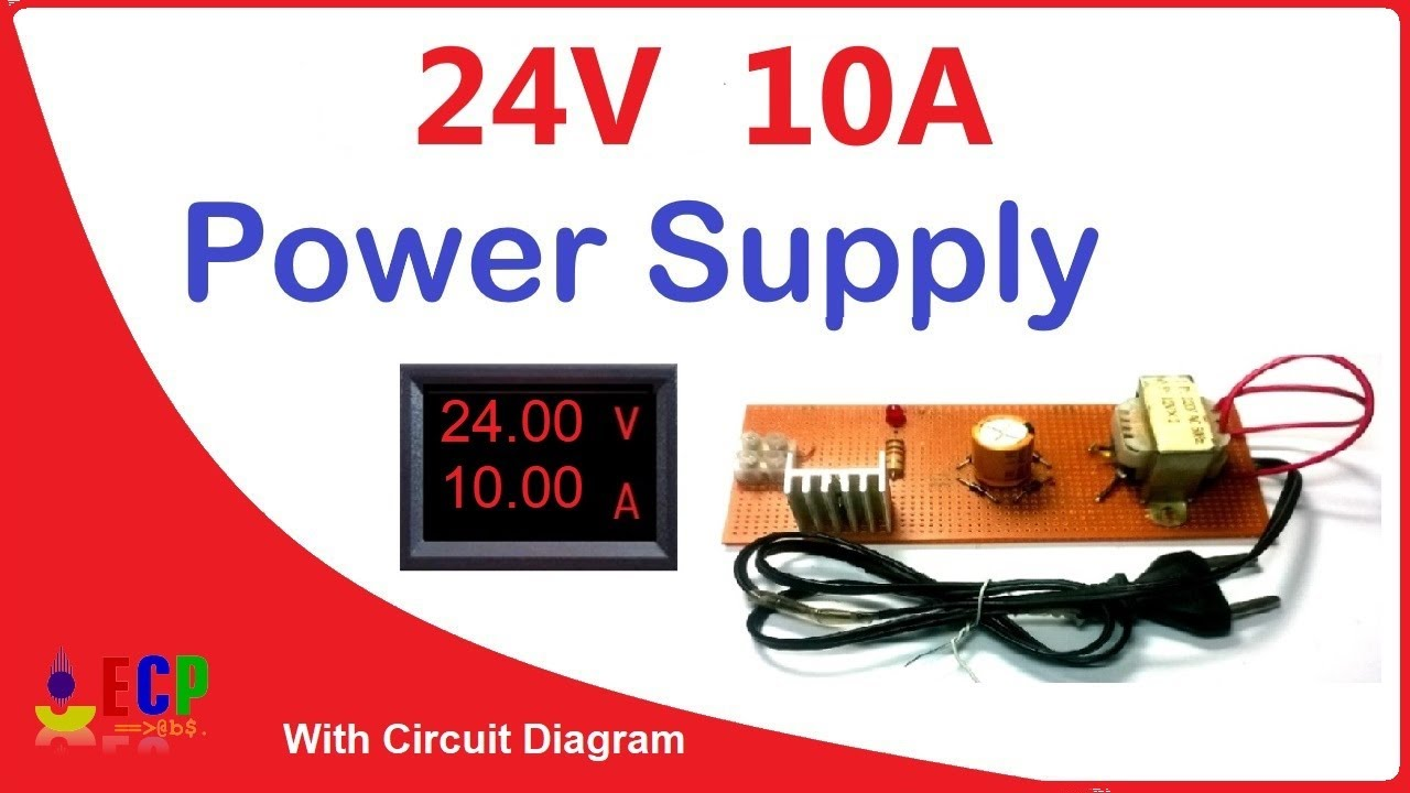 How to make 40v and 40amp power supply   simple with circuit diagram