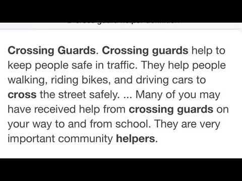 Crossguard Empathy Project | Medlin Middle School