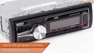 JVC KD-X210 - USB Autoradio iPhone/iPod Schnittstelle Vorstellung