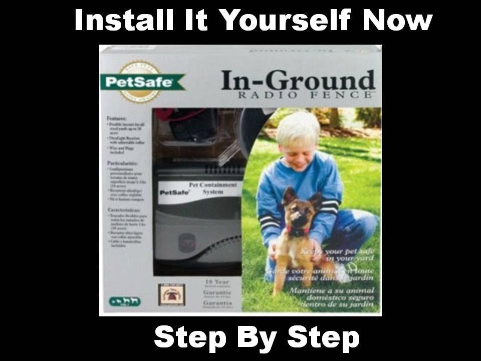installing underground dog fence