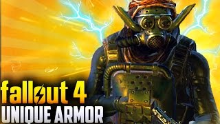 Fallout 4 Unique Armor - TOP 5 Far Harbor DLC Unique Armor & Clothing Pieces #1! (Fallout 4 Armor)