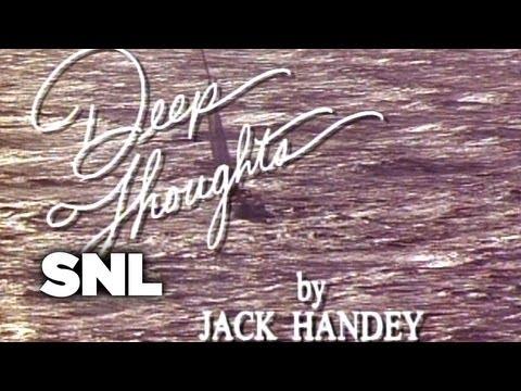 Deep Thoughts: Big Man - Saturday Night Live