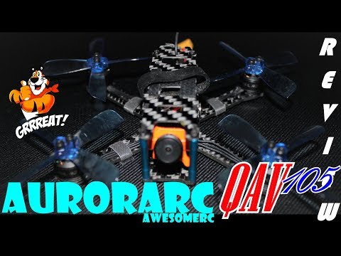 AuroraRC QAV105- One of the BEST micros - Review