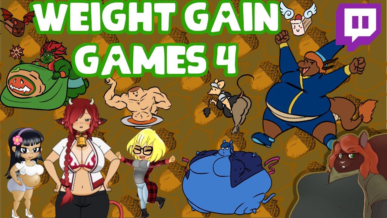 Bbw weight gain game