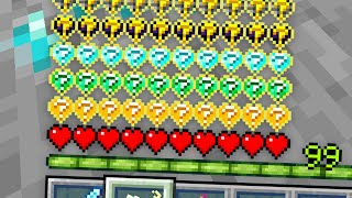 Minecraft, But There Are Lucky Hearts...