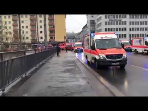 Feuer am Saarufer - Video: Herbst/Saarbrücker Zeitung