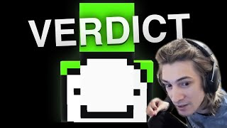 xQc Reacts to Did Dream Fake His Speedruns - Official Moderator Analysis