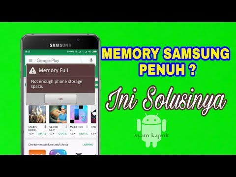 Cara Mengatasi Memori Penuh Saat Instal Aplikasi Di Hp Samsung Tanpa Menghapus Aplikasi Lainnya