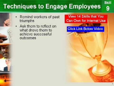 How To Motivate Employees: PowerPoint On How To Motivate Employees And 14 More Skills