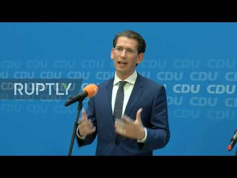 Germany: Kurz and AKK tout Von der Leyen's candidacy