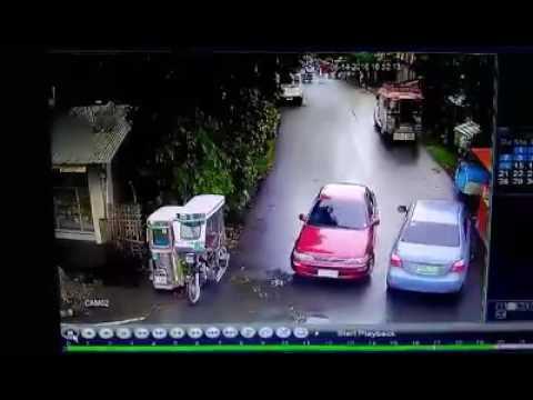 """CCTV Footage ng pamamaril sa """" C. Lirio St. Nagcarlan Laguna """""""