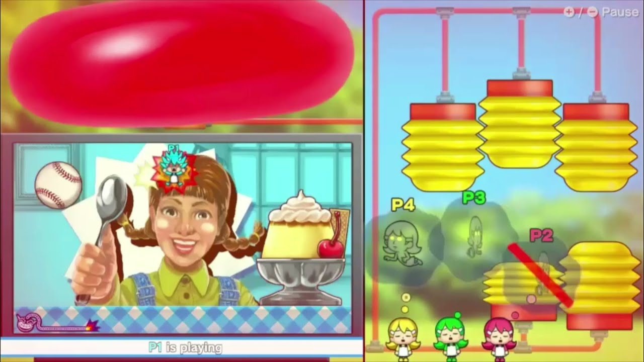 """The BEST way to play 4 player WARIOWARE """"GET IT TOGETHER""""  ワリオウェア"""
