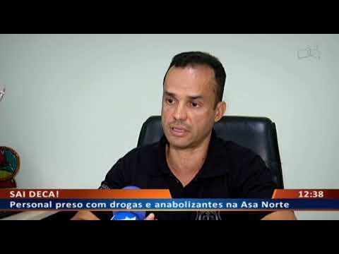 DF ALERTA - Universitário preso com anabolizantes e drogas na Asa Norte