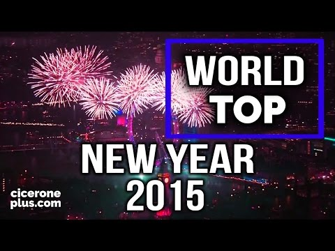 TOP 20 The Best Fireworks in the World and New Year's Eve, New Year's celebrations