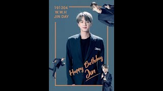 [Congratulatory Moving Image] 2019 JIN day
