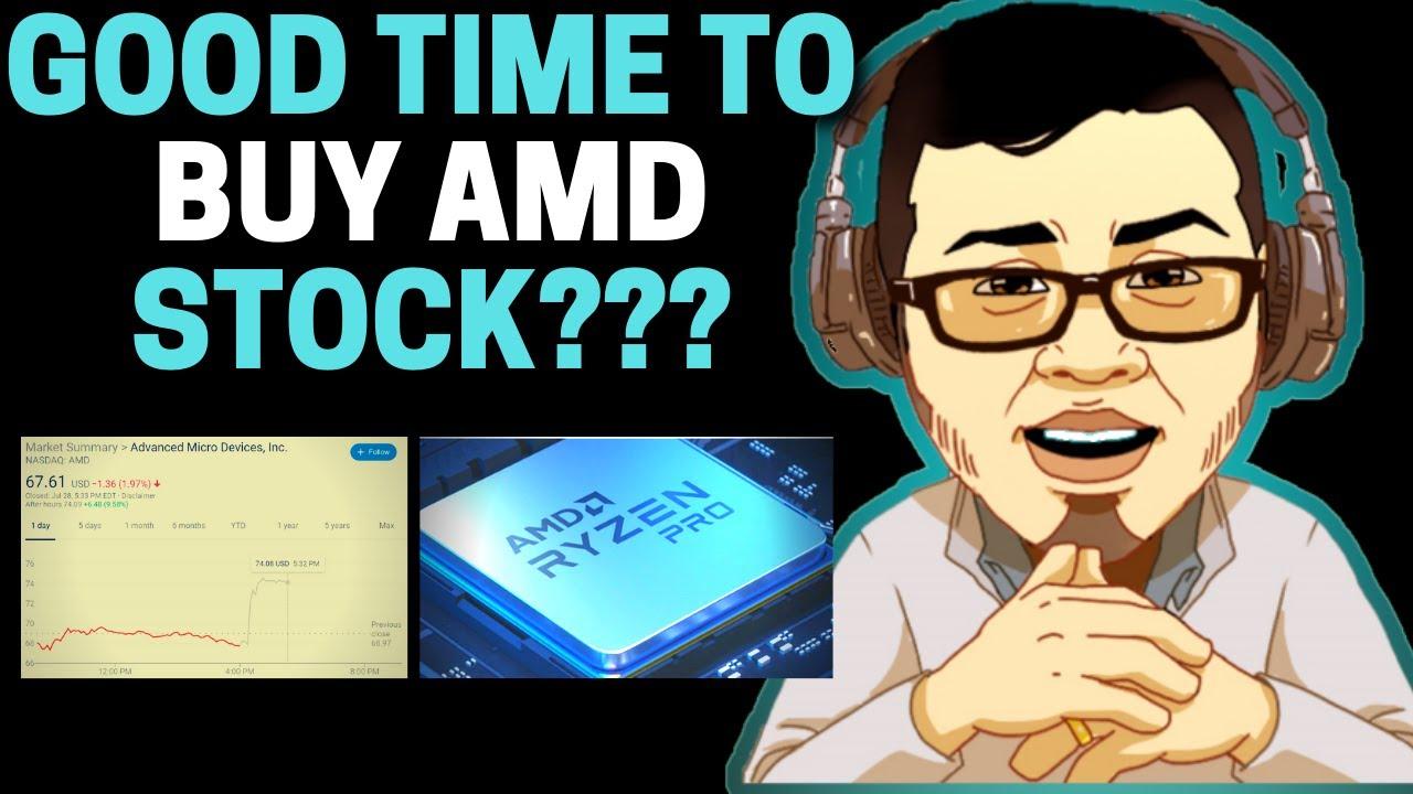 Great Time To Buy Amd Stock Up Big Amd Stock Earnings Analysis Youtube