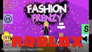 Elegant Fashion Frenzy Show Roblox