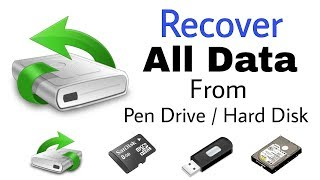 Recover All lost Data From Flash Drive / Hard Drive / SD Cards  | 99Features
