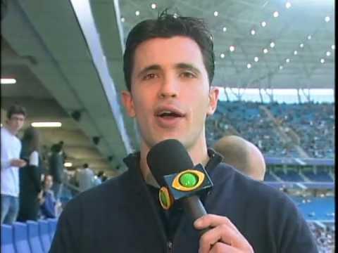 Carol Portaluppi na Arena - Os Donos da Bola 15/07 - Carlos ...