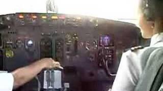 Decolagem 737 Galeão/RJ - Cabine