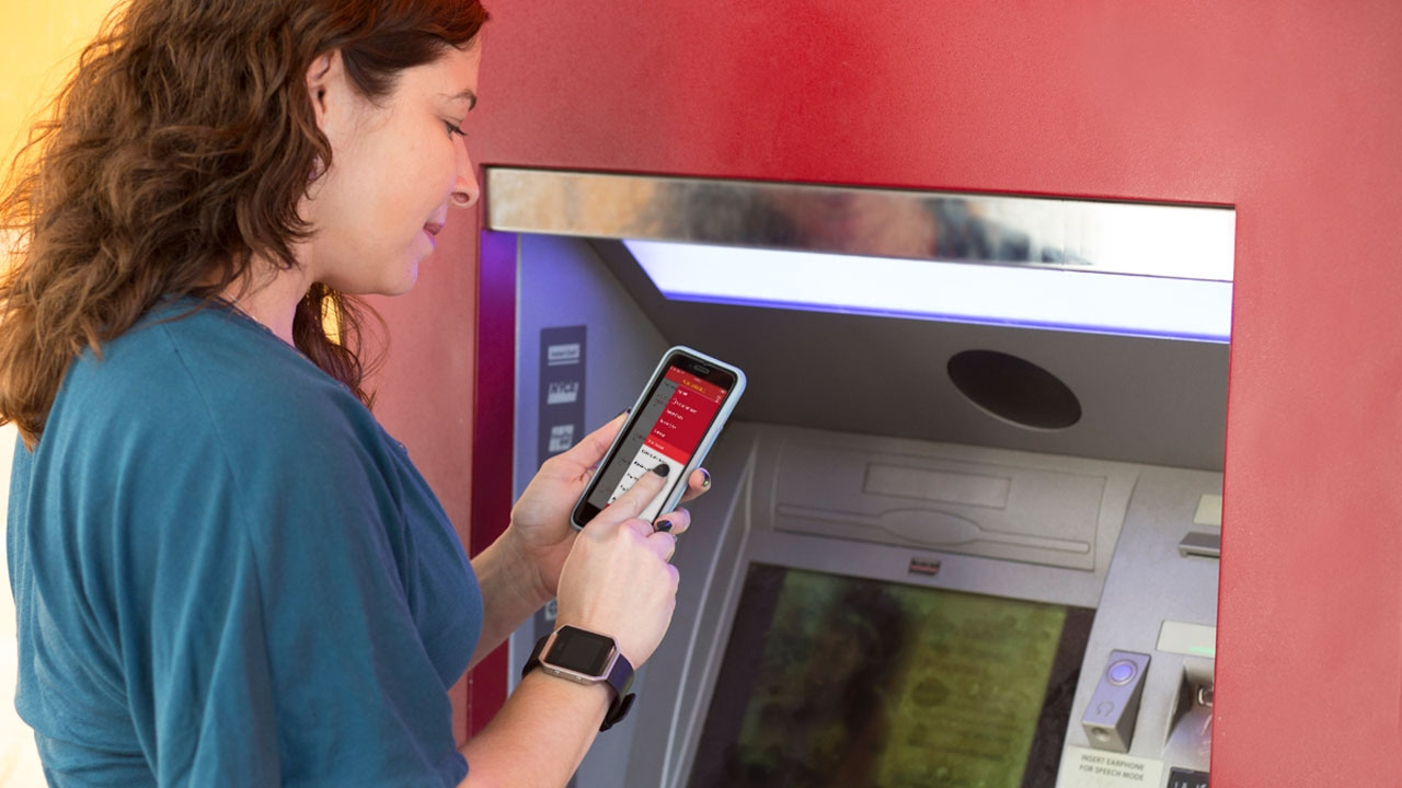 Taking ATM technology to the next level with card-free access