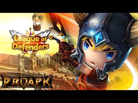 League of Defenders Gameplay iOS / Android