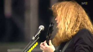 The Big 4 - Megadeth - Head Crusher Live Sweden July 3 2011 HD