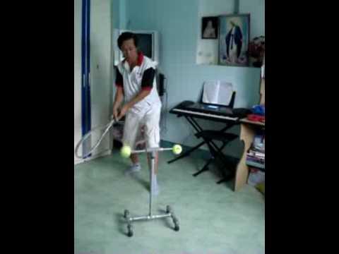 Dụng cụ tập tennis ngay tại nhà by tennisFan