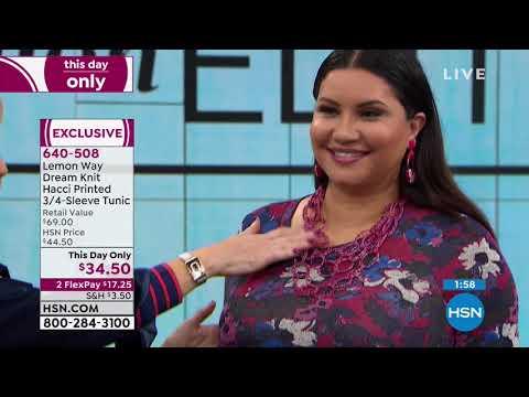 HSN | Lemon Way Fashions 03.17.2019 - 06 AM. http://bit.ly/31OCfjJ