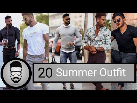 20 Easy Men's Summer Outfit   Men's 2019 Fashion Outfit Idea   Men's Outfit 2