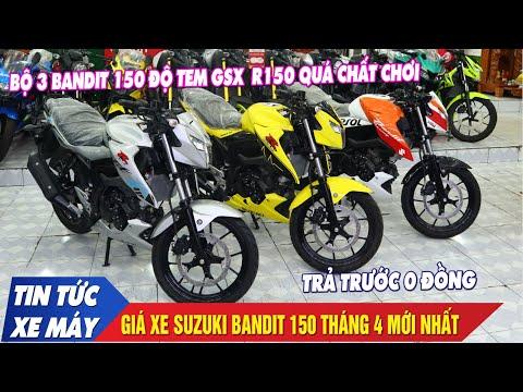 Bandit 150  Độ Tem Phong Cách GSX R150 Cực Chất Kèm Bảng Giá Xe Tháng 4 Mới Nhất