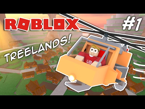I BOUGHT A HELICOPTER!! Roblox Treelands