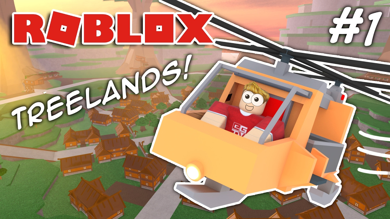 I Bought A Helicopter Roblox Treelands Youtube