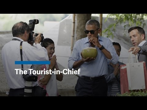 President Obama: the Tourist-in-Chief