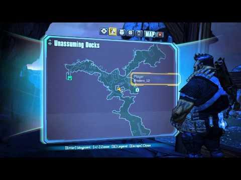 Assault on Dragon Keep - Unassuming Docks Challenges Vault symbols and Spatula Khan - Borderlands 2