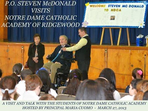 Detective Steven McDonald  SPECIAL REPORT